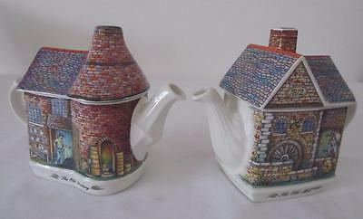 SADLER TEAPOT 'The Old Mill' English Collectable UNUSED
