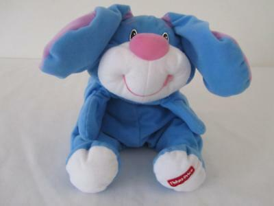 Vintage Fisher Price RUMPLE Bunny Bear  Soft Plush Character Toy