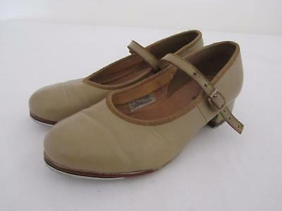 BLOCH Dance TAP SHOES Camel Girls Size 4
