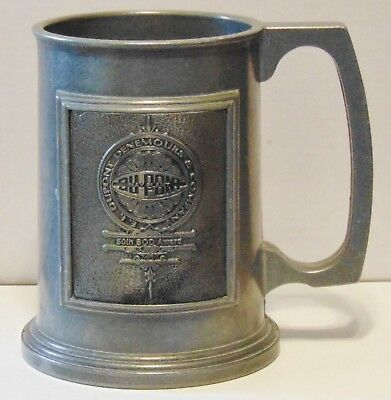 Pewter Tankard Dupont DeNemours 50th Board of Directors Award May Plant Duracast