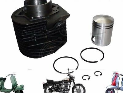 New Lambretta Cylinder Barrel With Piston Kit Li 175 Scooters @de
