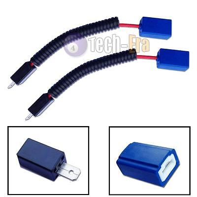 H1 H3 CERAMIC Plug Wire Wiring Harness Socket Adapters For ... H Wiring Harness Replacement on