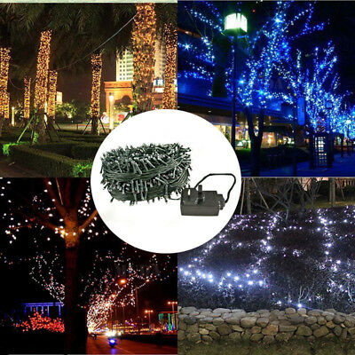200/300/400 LED Indoor/Outdoor Christmas Tree Fairy String Lights Mains Plug-In