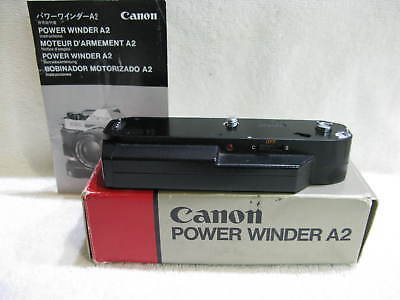 Canon  Power Winder  A2 for A series  35mm Film Cameras ,