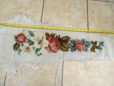 Old Craft Tapestry / Embroidery Example - Bell Pull ?