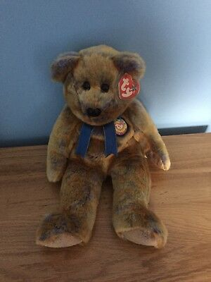 Ty Beanie Buddie Clubby Bear With Tag