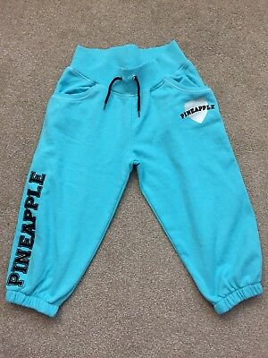 Girls Pineapple Tracksuit Bottoms Age 11-12 Years