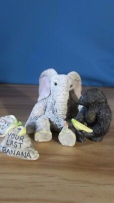 """Country Artists Elephant Tuskers """"Love is your last banana!!"""""""
