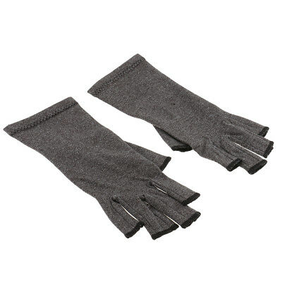 Breathable Mens Womens Compression Gloves Hand Arthritis Joint Pain Relief L