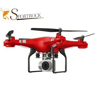 SH5HD Wide Angle HD Camera Quadcopter RC Drone WiFi FPV Live Helicopter Hover