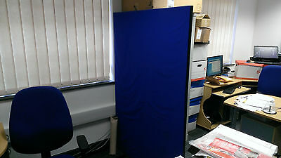 pair of office partitions, 6 foot by by 4 foot