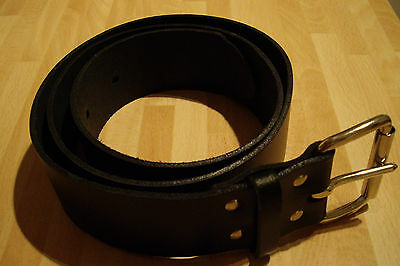 Black Scaffolding Belt