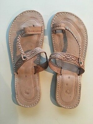 Moroccan Leather Sandals - 10 Colours! Brand New