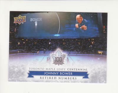 2017 Upper Deck Maple Leaf Centennial Retired Numbers SP Pick from List  123-134