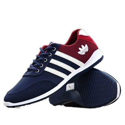 New Fashion Men's Breathable Canvas Sneakers Running Athletic Casual Sport Shoes