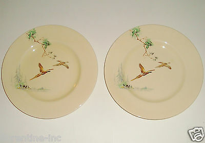 "2 Vintage Royal Doulton Plates ""the Coppice"""