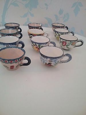 Vintage French Minature Breton Cups