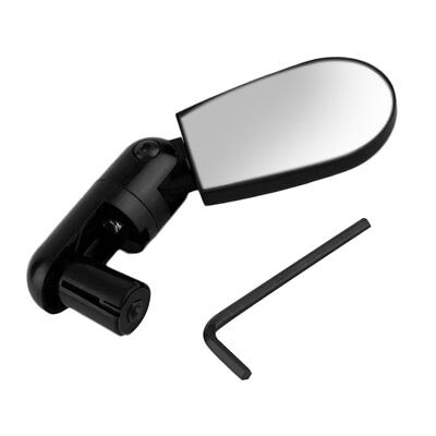 Rotate Safe Mountain Bike Motorcycle Reflective Mirror Rearview Handlebar FG