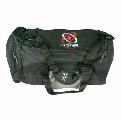 Kukri Ulster Rugby Players Duffel Bag (Black and Duck Egg) (S42541)