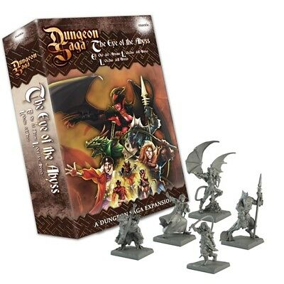 Dungeon Saga : Eye Of The Abyss - Mantic - Heroquest - Pre Order