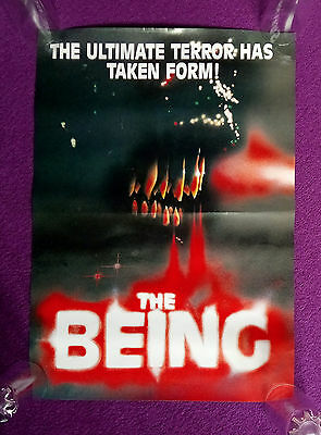 The Being 1983 Video poster - 23 1/2 by 16 1/2 inches