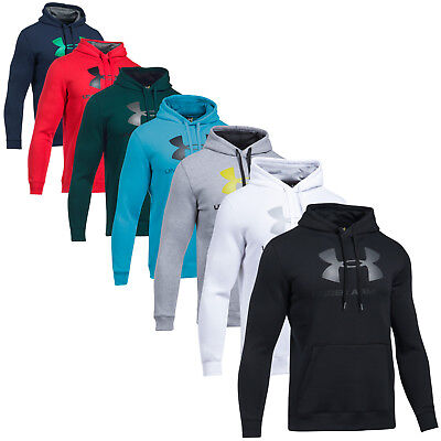 Under Armour Hoodie Fitted Graphic Kapuzenpulli Hoody Funktion Pulli Laufen run