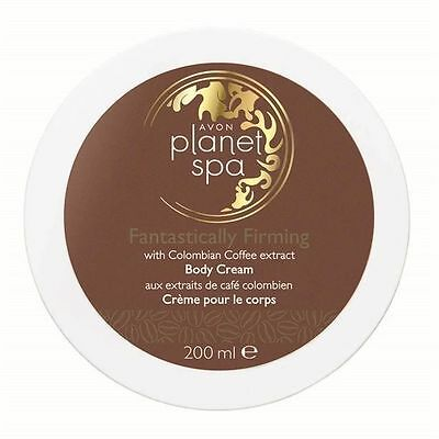 Avon Planet Spa Fantastically Firming Body Cream Colombian Coffee Extract 200ml