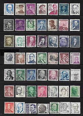 USA - mixed collection No.64, Prominent Americans