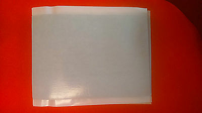 10 A4 single sided black foam sheets- Adhesive backed one side - 2mm thick