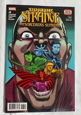 Doctor Strange - Issue # 6 - May 2017 - Marvel Comics - NM/VF (42)