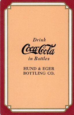 "1938 RARE VINTAGE ""Coca Cola"" SINGLE Playing Card"