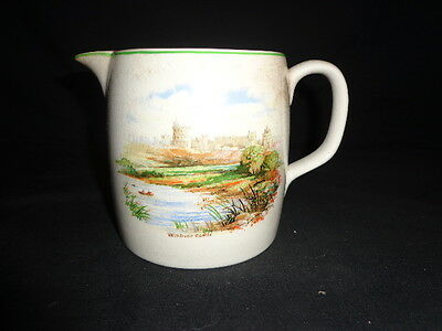 VINTAGE BCM NELSON WARE OLD ENGLISH CASTLES (Windsor Castle)  MADE IN ENGLAND