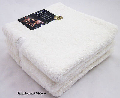 Handtuch Dreams ivory - Beige ca. 50 x 100 cm