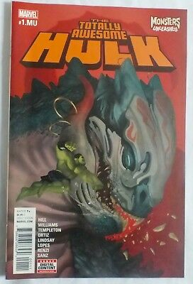 The Totally Awesome Hulk - Issue # 1 - May 2017 - Marvel Comics - NM/VF (49)