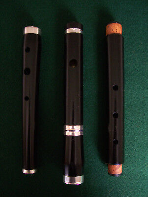 George Ormiston Blackwood Wooden Irish D Keyless Flute