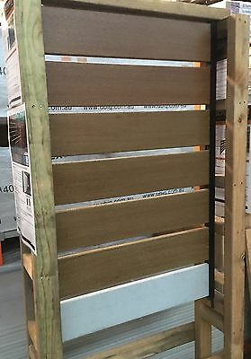 INEX composite Non Timber Non Combustible fence/screening  2700 X 140 X 18mm
