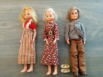 Mattel Sunshine Family  Dolls 1973