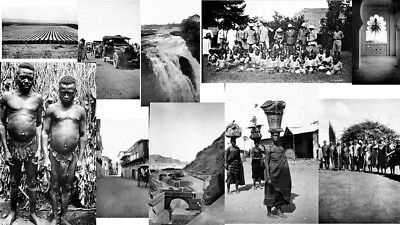 Glass Slide/negative Collection 90 Superb Period Images Africa 1922  Dr Church