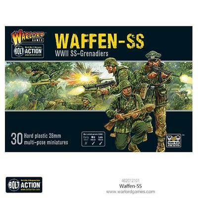 Waffen Ss - Plastic - German  Bolt Action - Warlord Games Ww2 - Pre Order