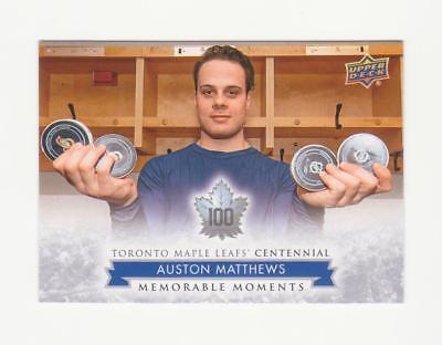 2017Upper Deck Maple Leaf Centennial Memorable Moments SP Pick from List 169-200