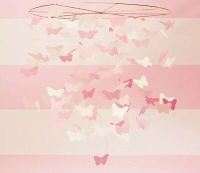 Pottery Barn Kids Butterfly Ceiling Mobile - New in box!