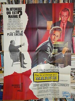 ALFRED HITCHCOCK/  MARNIE / FRENCH poster
