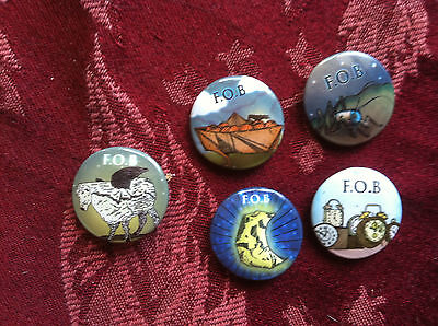 Fall Out Boys buttons/pins set of 5 promo for Infinity on High cd