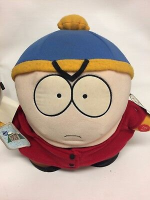 """Large 11"""" South Park Cartman Plush 1998 Downpace Comedy Central with Tags"""