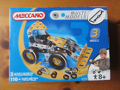 Meccano Multi Models 2520 - brand new sealed