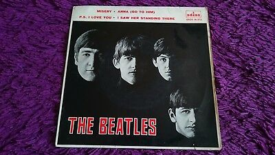 "The Beatles ‎– Misery , Vinyl, 7"", EP, 1964 , Spain , DSOE 16.573 , 1st pressing"