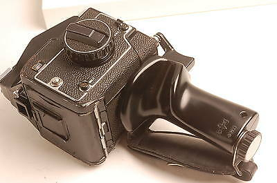 Mamiya 645 Left Hand Pistol Grip With Leather Strap