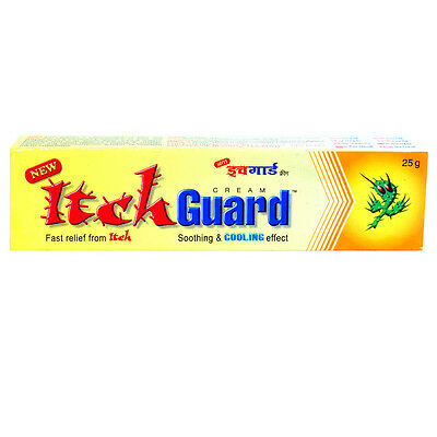 Itch Guard Anti Fungal Cream 25gm * Free Shipping from India *