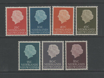 NETHERLANDS NEW GUINEA Sel. of 7 lightly mounted mint definitives
