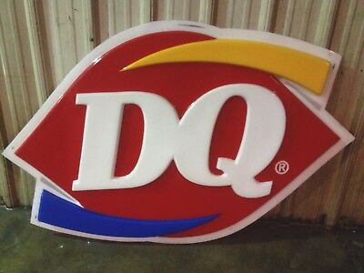 Large Dairy Queen Franchise   Exterior Signage Perfect For New Store/ Upgrade